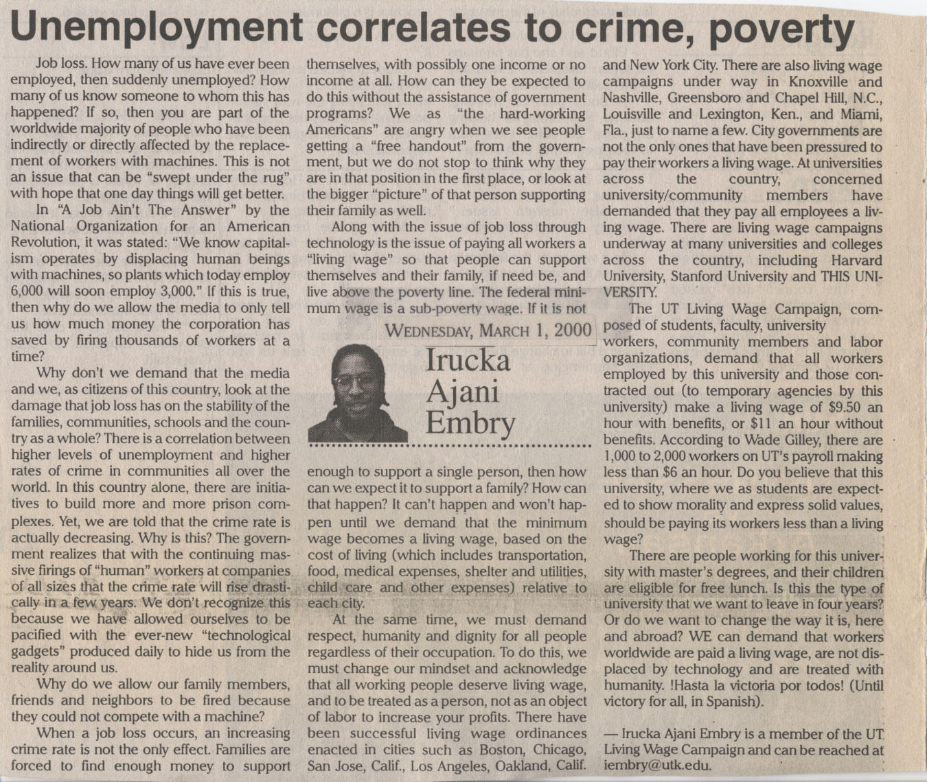 "how is unemployment linked with poverty ""food security exists when all people, at all times, have physical and economic access to sufficient, safe and nutritious food to meet their dietary needs and food preferences for an active and healthy life""."